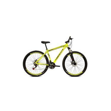 Imagem de Bicicleta Aro 29 Absolute Nero 3 27v Hidráulico K7 e Trava Amarelo Neon Com Preto Tamanho 15