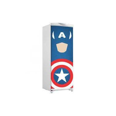 Capitão América Personalizado Nome Decalque Adesivo De Parede Personalizado Marvel Vingadores WP23