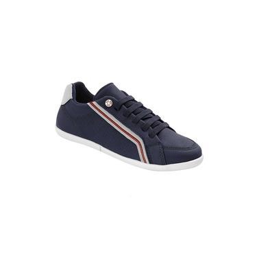 Sapato Infantil Klin Flyer 145 Marinho/Branco/Vermelho