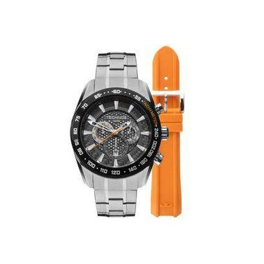 5f1a6c9d49f Relógio Masculino Technos Os20hm1b À Prova D`água 100 M Troca Pulseira