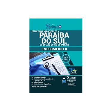Imagem de Apostila Prefeitura de Paraíba do Sul RJ 2021 Enfermeiro II