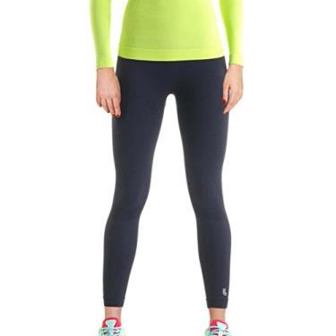 Calça legging Térmica X-Run, Lupo Sport, Feminino, Preta, P