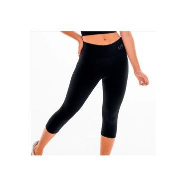Imagem de Calça legging GG corsário fitness academia BYG Ring Preto