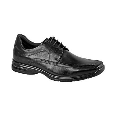 SAPATO SOCIAL DEMOCRATA AIR STRETCH PRETO 448026 44 PRETO
