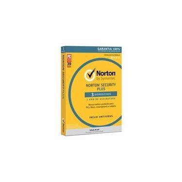 Norton Antivirus Security Plus para 3 Dispositivos - Digital para Download - 21382363