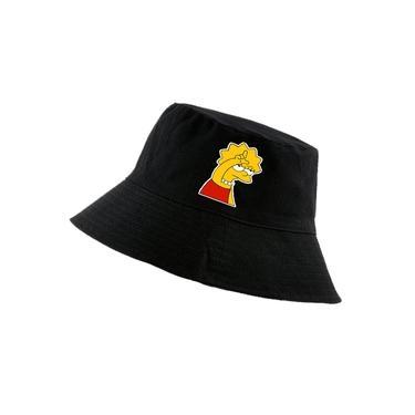 Chapéu Bucket Hat Unissex Lisa branco
