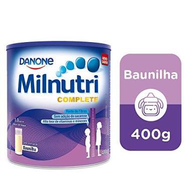 Suplemento Infantil Milnutri Complete Baunilha Danone Nutricia 400g