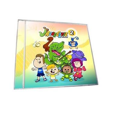 Imagem de Jacarelvis E Amigos Volume 2 - CD Infantil