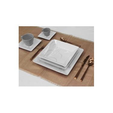 Jogo de Jantar e Chá e Café Oxford 42 peças Mail Order Quartier Tattoo
