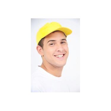 Boné Amarelo Canário