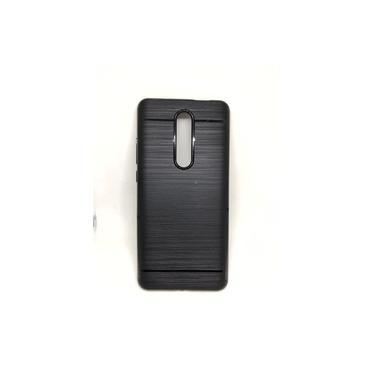 Capa Emborrachada Preta Xiaomi Redmi Mi 9T / K20 6.39 + Película De Gel 5D Borda Preta