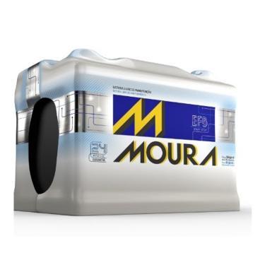 Bateria Automotiva Moura 60AH MG60GD MGE - Preto