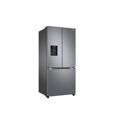 Imagem de Refrigerador French Door Samsung de 03 Portas Frost Free com 470 Litros Inox - RF49A5202S9/AZ