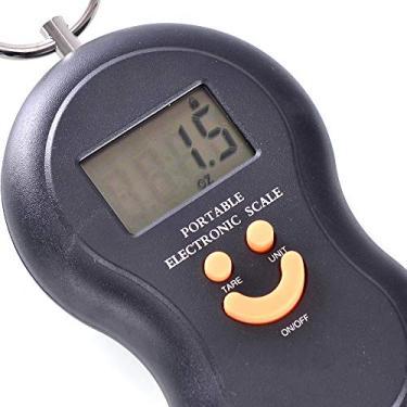 Balança Digital Portátil Até 50kg Mão Mala Bagagem - Tomate Stc-05