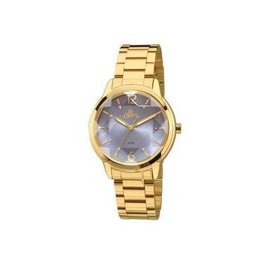 ff9402698f6 Relógio de Pulso Feminino Allora Analógico Metal