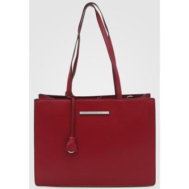 Bolsa Santa Lolla Sacola Vermelha Santa Lolla 0452.27BC.0088.012F feminino