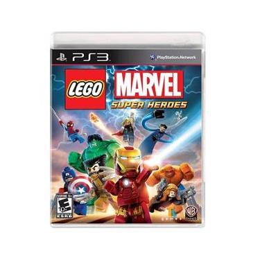 Jogo Lego Marvel Super Heroes Ps3 Sony Warner