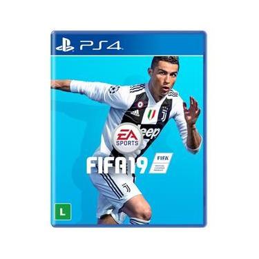 Game FIFA 19 para PS4 - Mídia Física