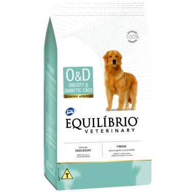 Ração Equilíbrio Veterinário Cães Obesidade &Amp, Diabete 7,5Kg