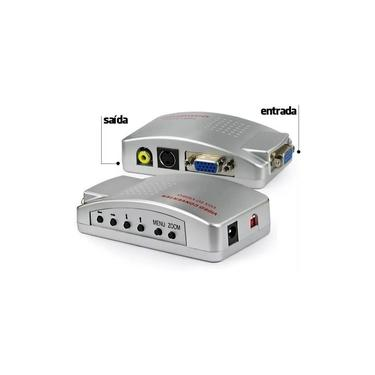 Adaptador Conversor De Vga X Rca / S-video - Box