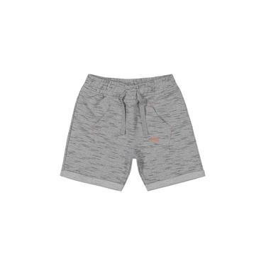 Shorts Infantil Masculino Trick Nick Cinza