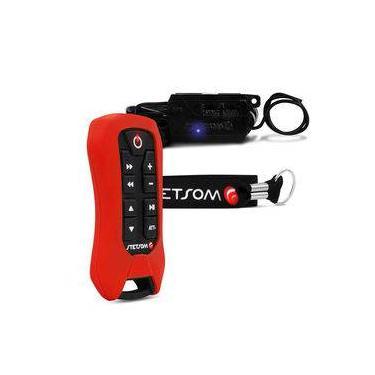 Controle Longa Distância Stetsom Sx2 Light 200 Metros Vermelho Alcance Control