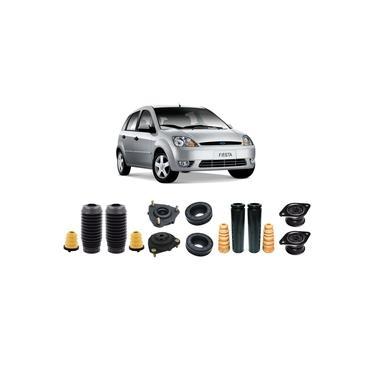 4 Kit do Amortecedor Suspensão Dianteira Traseira Ford Fiesta Supercharger 2002 2003 2004 2005 2006 2007 2008 2009 2010 2011 2012 2013 2014