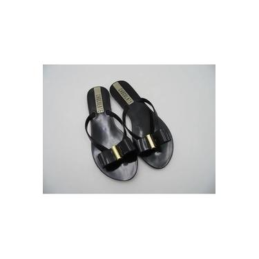 Sandalia Rasteira Chocolate Shoes Plastica 820.001