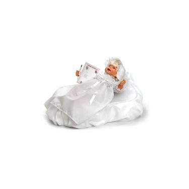 Imagem de Roupa para Boneca - Modelo Batizado – Laço de Fita