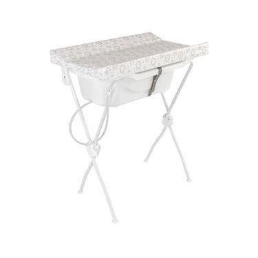 Banheira para Bebê Com Trocador New Floripa - Tutti Baby - Branco