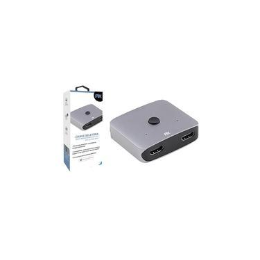 Chave Seletora Bidirecional 2×1/1×2 HDMI 2.0 4k Pix 023-0870 - Pix