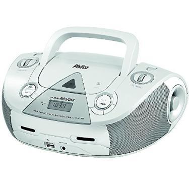 Boombox, PB126, Entradas USB e MP3, 4W RMS, Bivolt, Philco