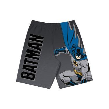 Bermuda em Microfibra Batman, Fakini, Meninos, Grafite, 4