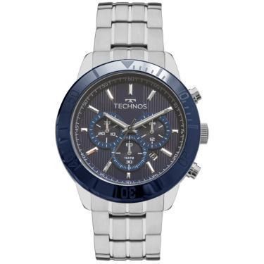 f443283179a43 Relógio Masculino Technos Classic JS25BS 1A Prata