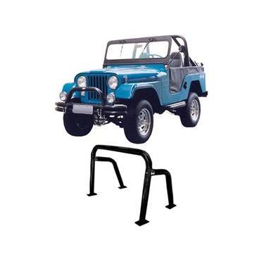 Santo Antonio Jeep Willys Preto