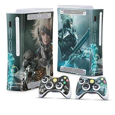 Skin Adesivo para Xbox 360 Fat Arcade - Metal Gear Solid Rising