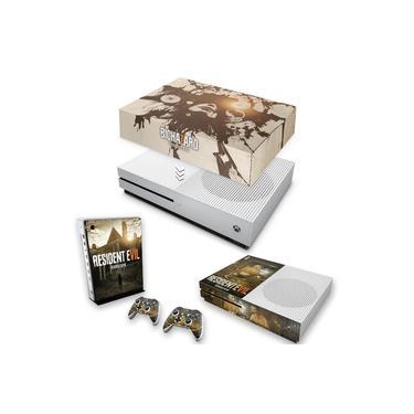 Capa Anti Poeira e Skin para Xbox One S Slim - Resident Evil 7: Biohazard