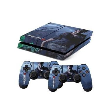Skin PS4 Fat Uncharted 4 A