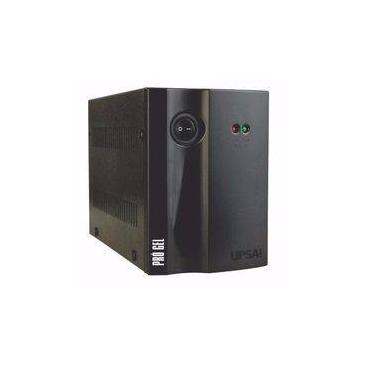 Estabilizador de Tensão Upsai Pro Gel 1,5kva 1500va 1050w 110v / 110v Modelo 51050102