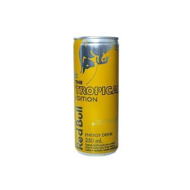 Energético Red Bull Tropical Edition 250ml