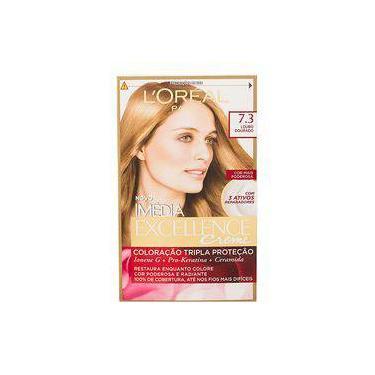 Tintura Imédia Excellence Creme L'oréal - Nº 7.3 Louro Dourado
