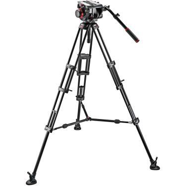 Imagem de Kit Manfrotto 509HD,545BK Sistema de Tripé de Vídeo Profissional