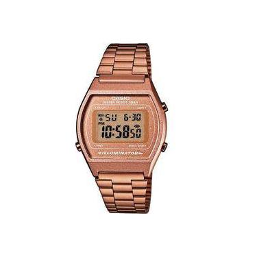 8fb1f6ab6d4 Relógio Casio Vintage Digital B640wc-5adf Rose