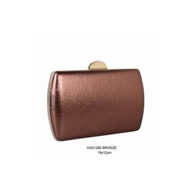 Bolsa Clutch Madame Marie – Bronze