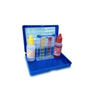 Imagem de Kit Teste Medidor De Cloro E Ph Água De Piscina Com Estojo