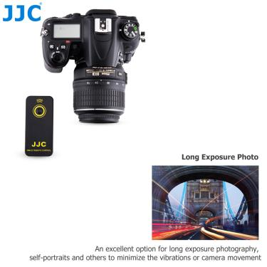 Imagem de Jjc-câmera de vídeo, controle remoto sem fio, ir commander, gravação de vídeo para nikon d750 d90