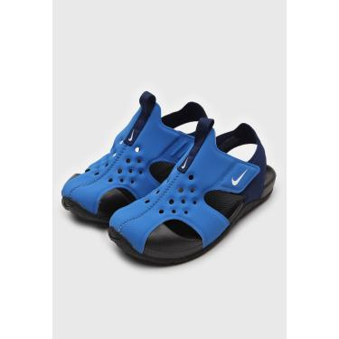 Imagem de Sandália Nike Infantil Sunray Protect 2 Azul Nike 943826-403 menino