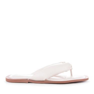 Rasteira Flat Bruna Frida Shoes Napa Nude - 37