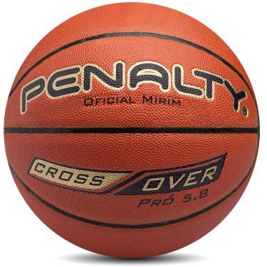 Bola Basquete 5.8 Crossover Ix Penalty 71 Cm Preto