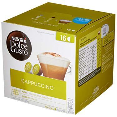 Nescafé, Dolce Gusto, Cappucino, 16 cápsulas